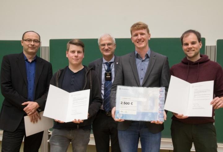 The award winning PI5 Dysprosium Team