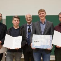 The award winning PI5 Dysprosium Team Universität Stuttgart