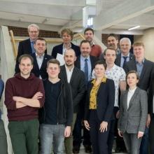 Group Photo of all award winners 2018