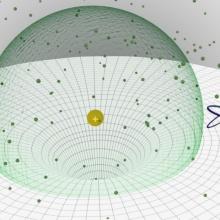 Die Anwesenheit eines einzelenen Ions in einer ultrakalten Gaswolke beeinflusst die Erzeugung eines Rydberg-Atoms in seiner Umgebung.