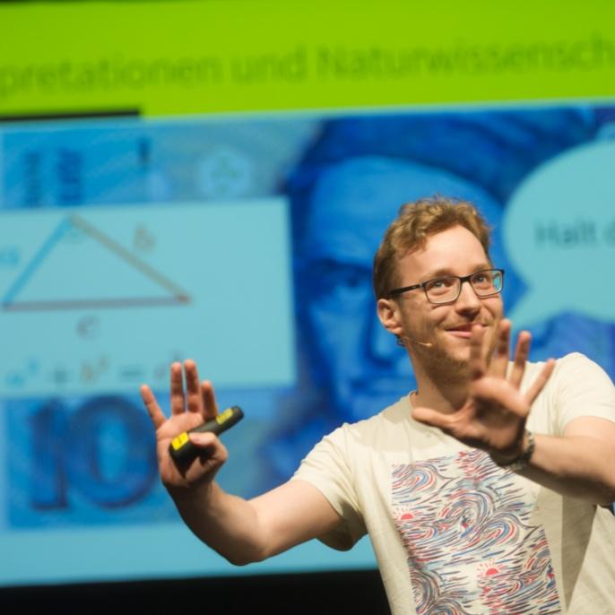 Thomas Bissinger, Doktorand an der Universität Konstanz