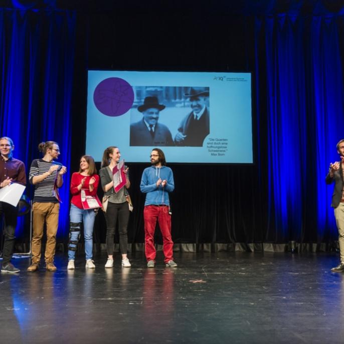 Das war der Q-Science Slam 2019 im Theaterhaus Stuttgart. Fortsetzung folgt!
