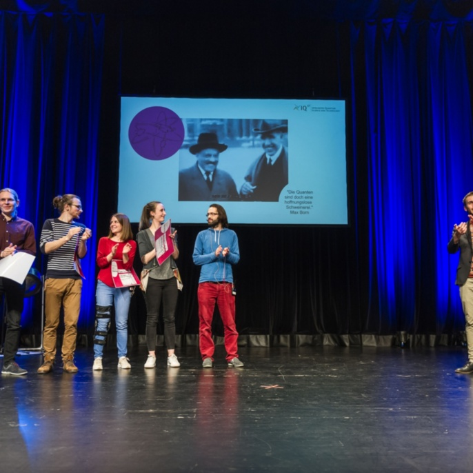 Q-Science Slam 2019 at the Theaterhaus Stuttgart. To be continued!