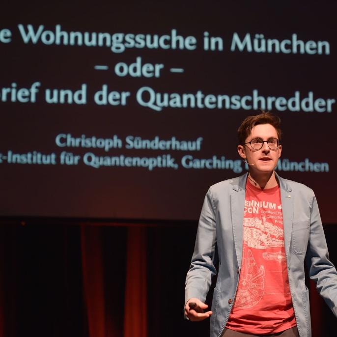 Startposition 3: Christoph Sünderhauf - Doktorand am Max-Planck-Institut für Quantenoptik in Garching