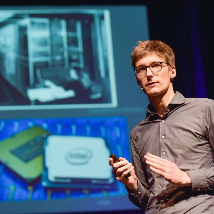 Startposition 5: Julian Maisch - Doktorand an der Universität Stuttgart