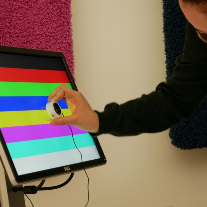 RGB-Bildschirm